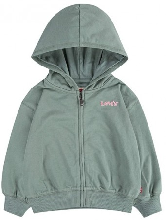 Oversized Zip-Hoodie Seaspray