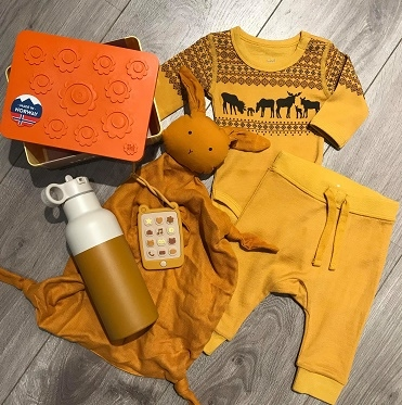 Gul/Orange